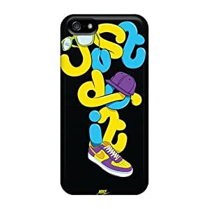 Durable Case For The Case For Iphone 4/4S Cover - Eco-friendly Retail Packaging(just Do It Artwork)