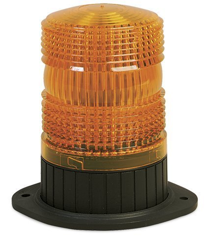 Federal Signal 462121-02 Renegade Strobe Beacon, Class 3, Permanent/ 1/2'' Pipe Mount with Amber Dome by Federal Signal