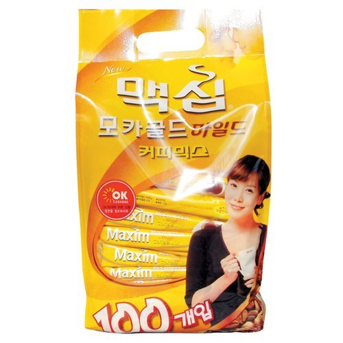 [BOX sale] Maxim Mocha Gold mix 100 wrapped X 8 pieces Korea food and beverage / Korea tea Maxim by Maxim