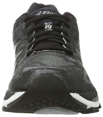 Running de Negro Asics Black Onyx Nimbus Mujer 19 Gel Silver Zapatillas para 1qU8IwrX8n