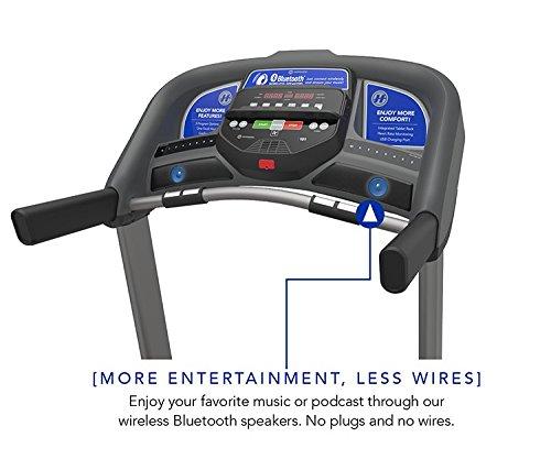 Horizon Fitness T101-05 Folding Treadmill, Black