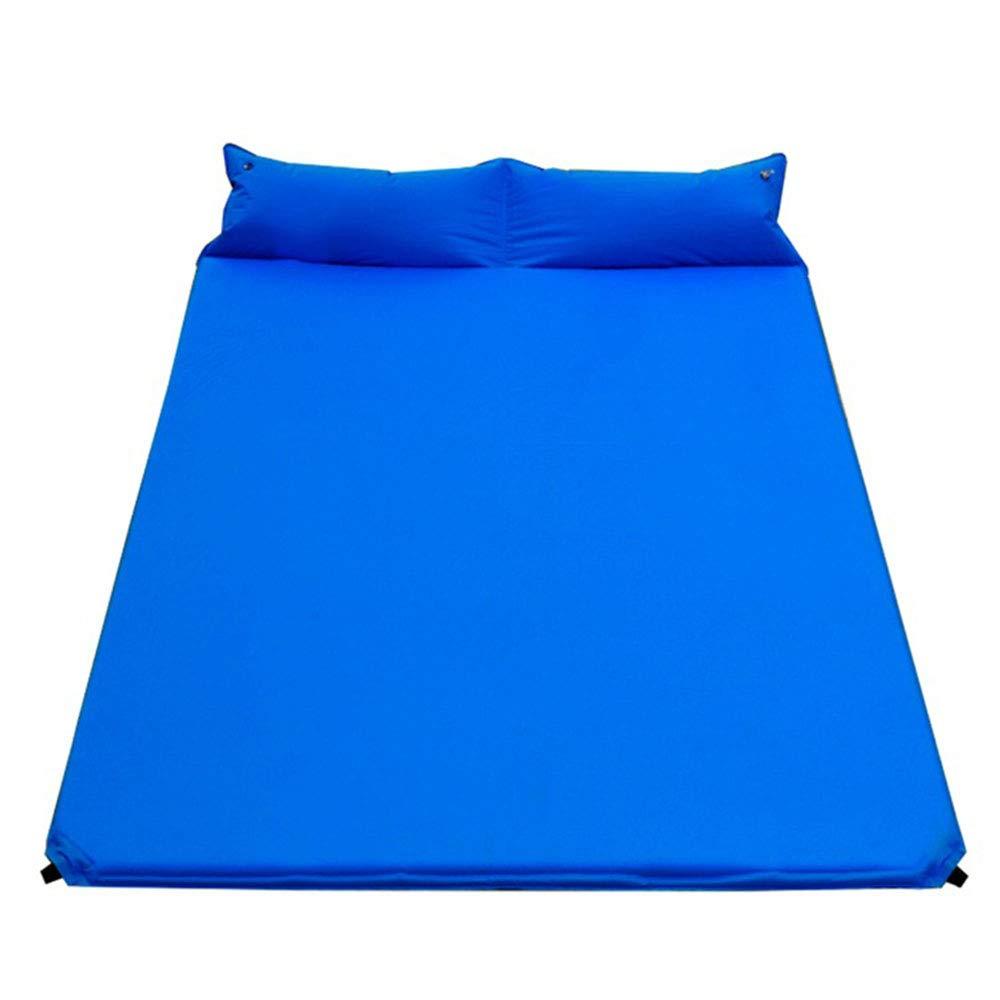 ZHANGZHIYUA Doppelte automatische aufblasbare Kissen Autoreise tragbare Outdoor-Camping-Isomatte Schlafmatte