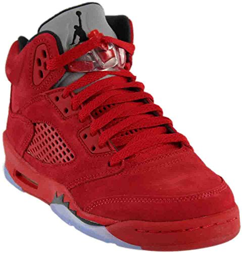 Nike Kids Air Jordan 5 Retro BG University Red/Black 440888-602 (SIZE: 5.5Y)