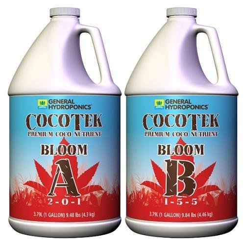 General Hydroponics Cocotte Coco Bloom A and B for Gardening, - Cocotte La