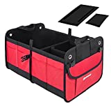 Automotive : Autoark Multipurpose Car SUV Trunk Organizer,Durable Collapsible Cargo Storage,Waterproof Bottom With Rubber Foot Based to Prevent Sliding,AK-032