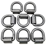 8 Weld on 3/4″ D Rings – Built Tough for Flatbed Trailers