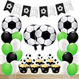 Soccer Party Decorations Supplies for Boy Birthday