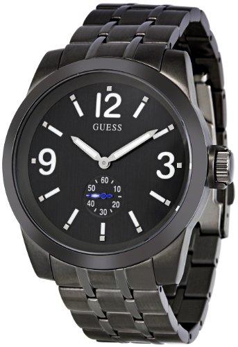 GUESS Men's W17536G1 Zoom Black Dial Watch