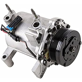 Reman AC Compressor & A/C Clutch For Oldsmobile Aurora 2001 2002 2003 - BuyAutoParts 60-00989RC Remanufactured