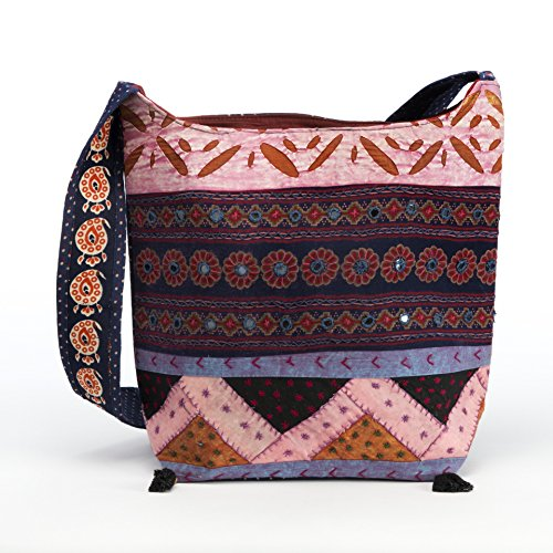 Mystic Self Yantra handmade boho Sling bodybag