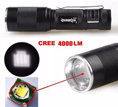 Waterproof 3500LM Pocket LED Flashlight Zoomable LED Torch Mini Penlight Light Z