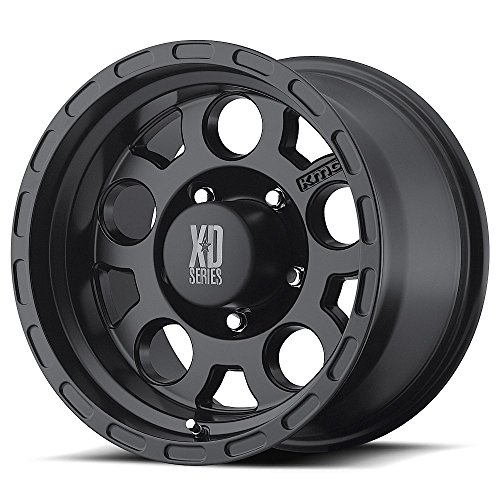XD-Series Enduro XD122 Matte Black Wheel (16×8″/5x127mm)