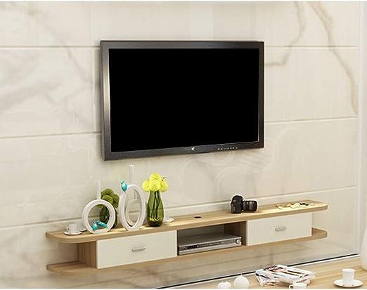 Mueble de TV de pared Soporte de TV flotante moderno Consola de TV ...