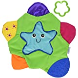 The First Years Star Teething Blanket,Multi