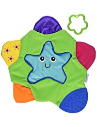 The First Years Star Teething Blanket,Multi BOBEBE Online Baby Store From New York to Miami and Los Angeles