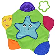 The First Years Star Teething Blanket,Multi