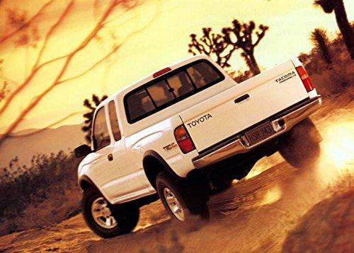 1998 Toyota Tacoma Prerunner Pickup Truck ORIGINAL Large Factory Postcard