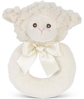 5.5 Bearington Baby Touchdown Plush Stuffed Animal Football Soft Ring Rattle