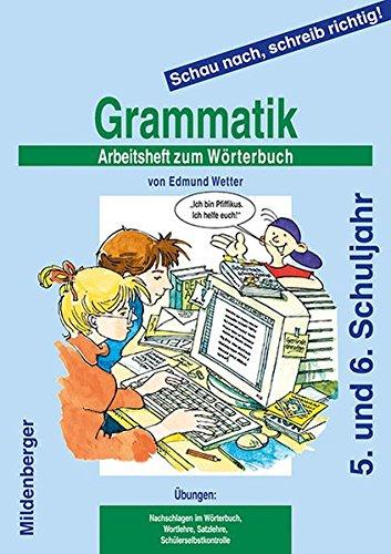 Schau nach, schreib richtig!: Arbeitsheft 3 zum Wörterbuch: Grammatik, 5./6. Schuljahr, alle Bundesländer