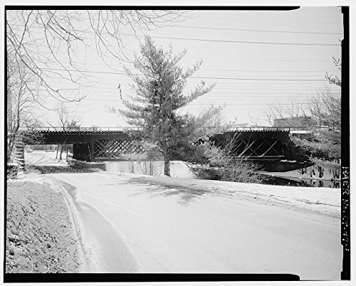 Photo: Bridge No. 110, Metro-North Railroad, Milford, New Haven County, Connecticut, CT . Size: 8x10 (Great Wall New Milford Ct)