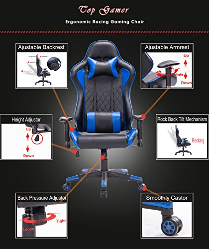 51SQqo NffL - Top-Gamer-Gaming-Chair-PC-Computer-Game-Chairs-for-Video-Game