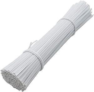 H-Laner 250 Pcs Metallic Twist Cable,Twist Tie,Reusable Fastening 5