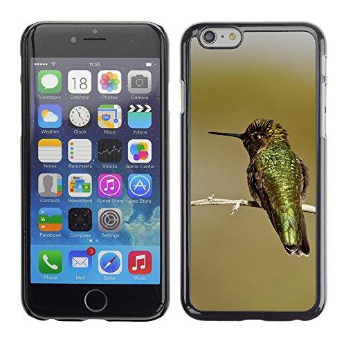 "Premio Sottile Slim Cassa Custodia Case Cover Shell // F00025133 Irisated Hummingbird // Apple iPhone 6 6S 6G 4.7"""