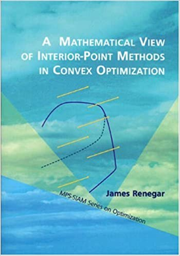 A Mathematical View of Interior-Point Methods in Convex Optimization (MPS-SIAM Series on Optimization)