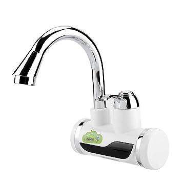 Instantáneos Calentadores de Agua Eléctrico Digital de Temperatura Calentador de Agua Caliente y Fría (2