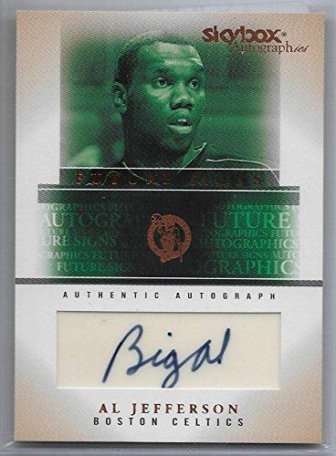 2004-05 Skybox Autographics Basketball Al Jefferson Autograph Card # FSA-AJ