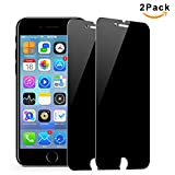 Image of Magicmoon [2 Pack] Anti-Spy iPhone 8 Plus / 7 Plus Privacy Tempered Glass Screen Protector