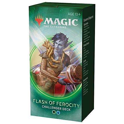 Flash of Ferocity Deck   Magic: The Gathering Challenger Deck 2020  Tournament-Ready   75 Cards + Tokens best to buy