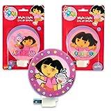 Dora The Explorer Night Light Luz De Noche (Assorted)