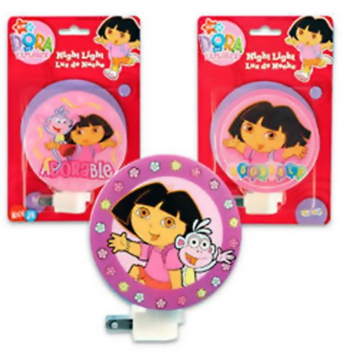 Dora The Explorer Night Light Luz De Noche (Assorted)