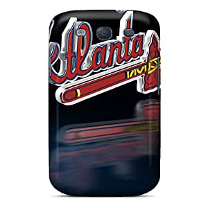 Great Cell-phone Hard Cover For Samsung Galaxy S3 (jNR12966TxPy) Custom High Resolution Atlanta Braves Series
