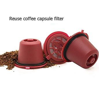 Prosperveil Reutilizables Cápsulas de café Nespresso, Cápsulas ...
