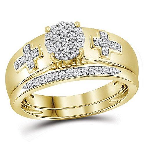 Yg Diamond Cross - 8