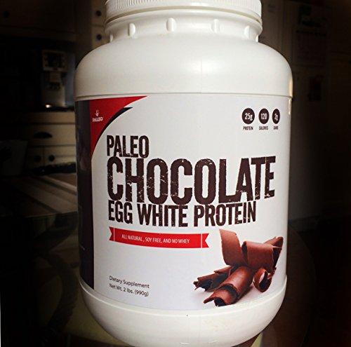 Protein Paleo blanc d'oeuf (Chocolat) (soja gratuit) (2 glucides) (2LBS)