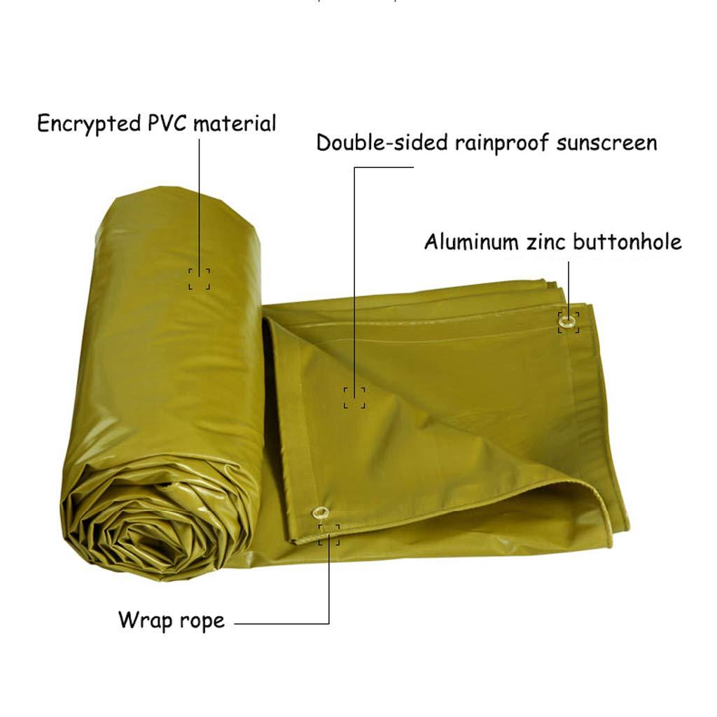 LI HAO SHOP Outdoor gepolsterte Wasserdichte Plane regendichtes - Oxford-Tuch - regendichtes Sonnenschutzplane - Stärke 0,5 Millimeter, 520 g / m2 mehrfache Farben 7f0b42
