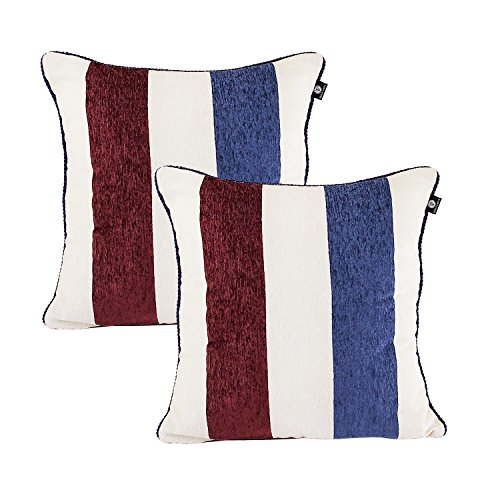 - Hello Laura 2 Pieces True Chenille Fabric Throw Pillow Cushion Case Cover Shell W/Hidden Zipper 20
