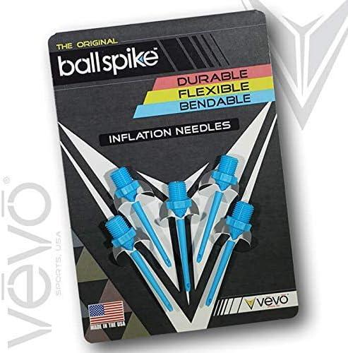 ballspike inflación Agujas por Vevo Deportes Estados Unidos Durable/Flexible/Flexible.