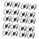 eDealMax 10 paires NVL-208B HD Video Balun Transceiver UTP Transmission adaptateur mâle BNC