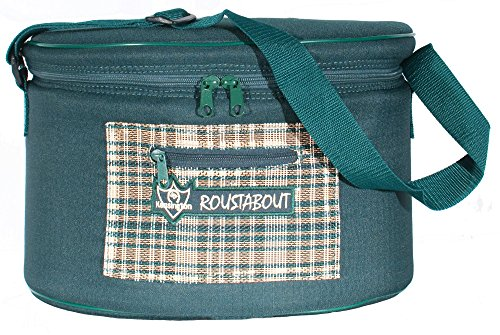 Kensington KPP Roustabout Helmet/Make-up Bag, Eng Hunter Plaid, One - Helmet Plaid