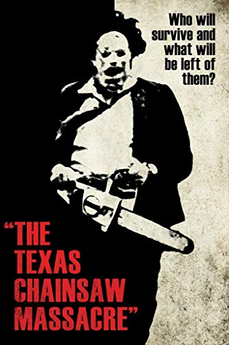 (Texas Chainsaw Massacre- Leatherface Silhouette Poster 24 x 36in)