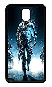 Note 3 Case, Galaxy Note 3 Case, [Perfect Fit] Soft TPU Crystal Clear [Scratch Resistant] Battlefield 3 Action Game Lovely Back Case Cover for Samsung Galaxy Note 3 N9000 Cases