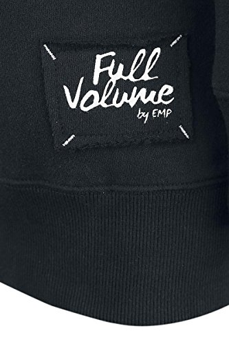 Full Volume by EMP Safe In My Garden Jersey con Capucha Mujer Negro Negro