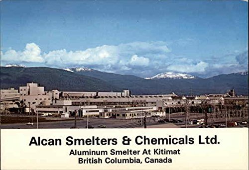 alcan-smelers-chemicals-ltd-kitimat-british-columbia-canada-original-vintage-postcard