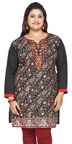maple clothing plus size india tunic long top kurti