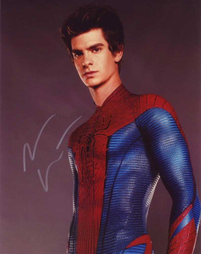 Andrew Garfield in-person autographed photo Amazing Spider-Man 2