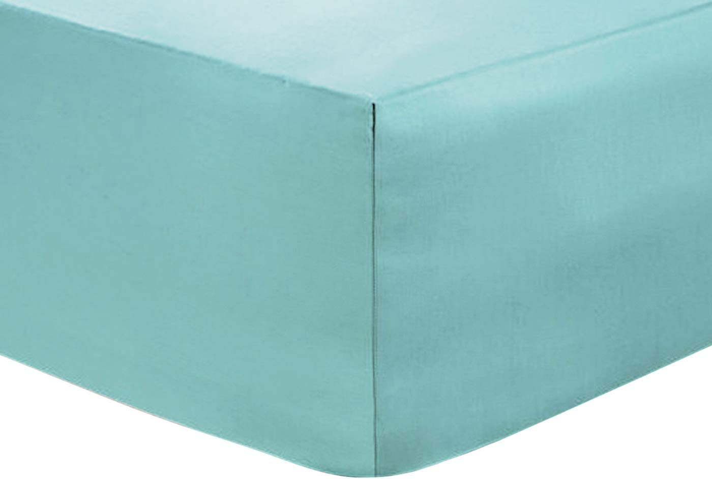WHITE, 4FT SMALL DOUBLE EXTRA DEEP FITTED SHEET 16 40 CM